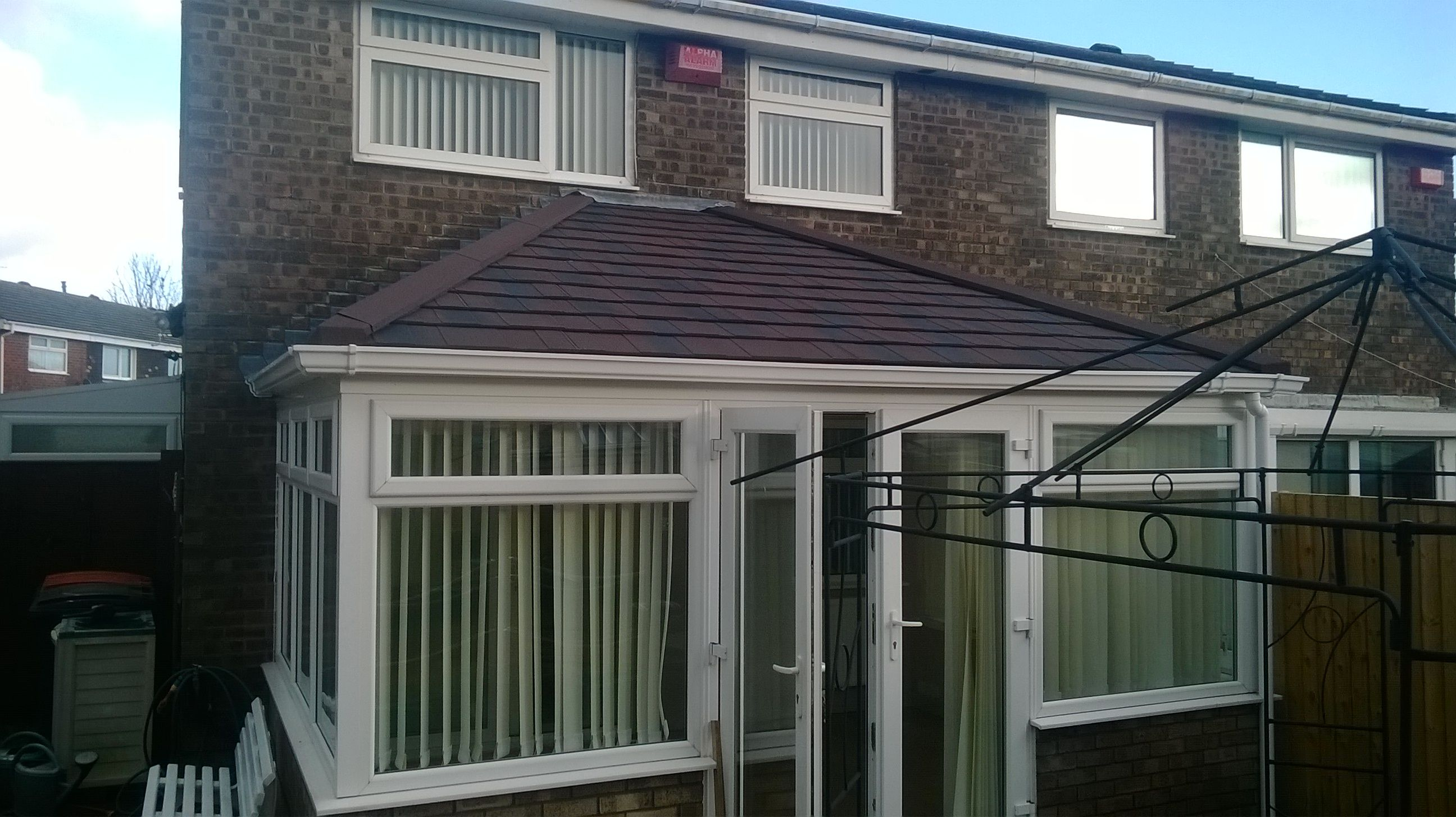 Hipped Lean To Tiled Conservatory Roof Tiled Conservatory Roof Conservatory Roof Lean To