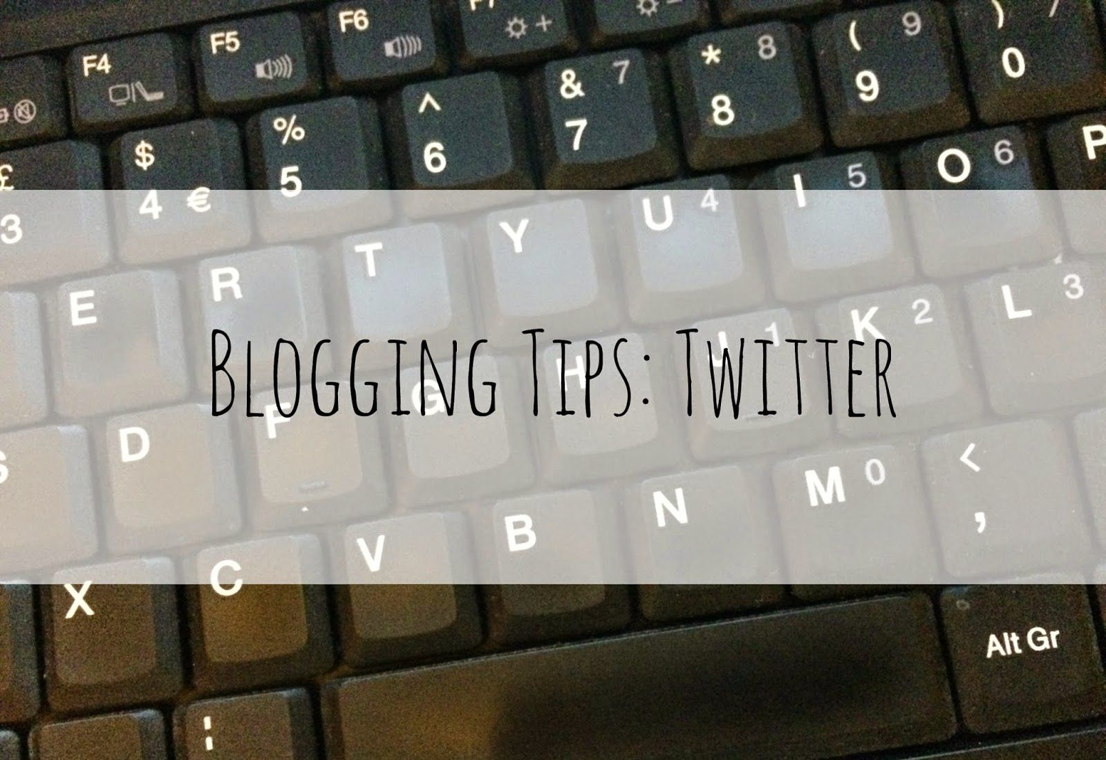 A piece of Elish: Blogging tips: Twitter