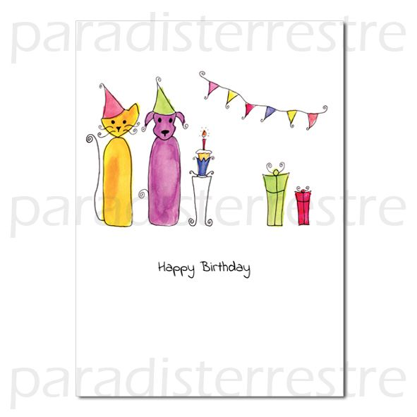 Contemporary Birthday Cards Wholesale Greeting And Original Fine Art By Paradis Terrestre All Printed In Britain