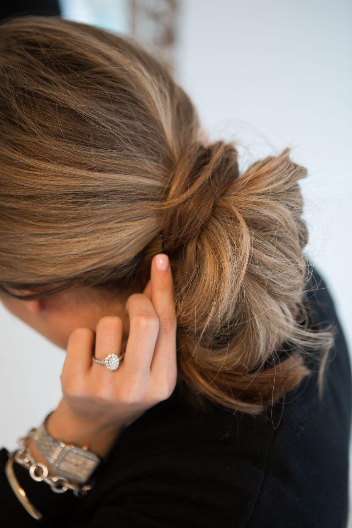 messy chignon hair tutorial | pinterest | bun tutorials, messy buns