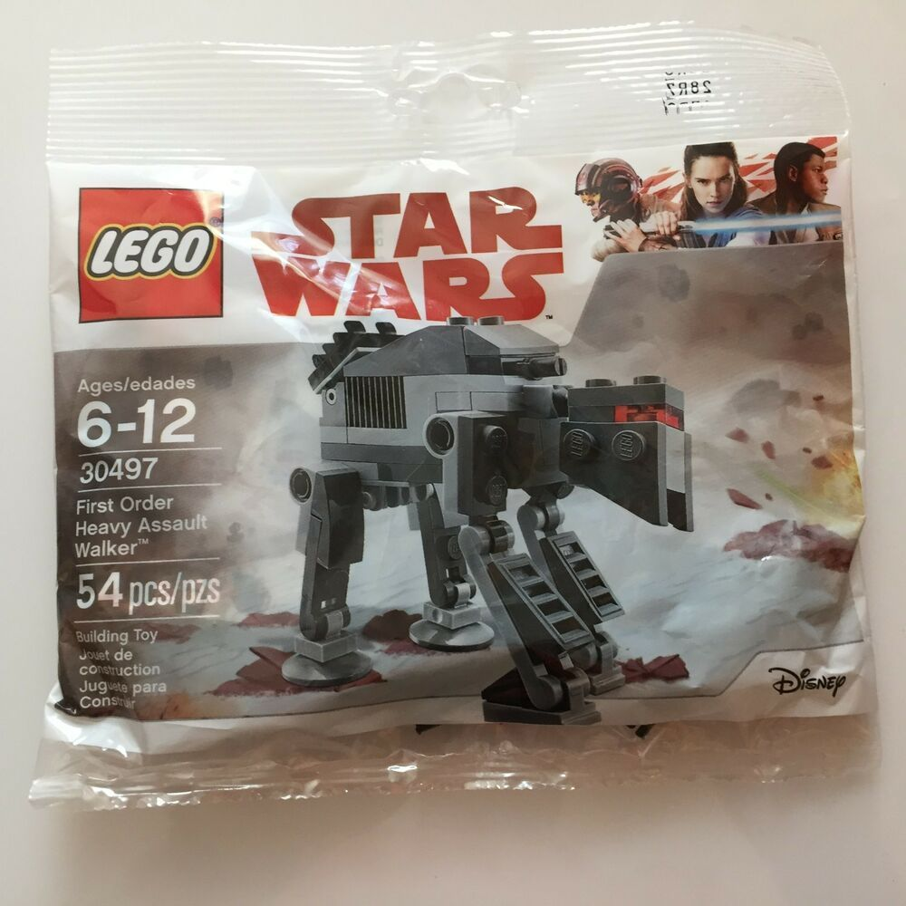 Lego Star Wars 30497 FIRST ORDER HEAVY ASSAULT WALKER 54 Pc Polybag  New