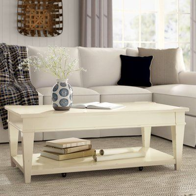 Birch Lane Heritage Wheaton Coffee Table Color Whipped