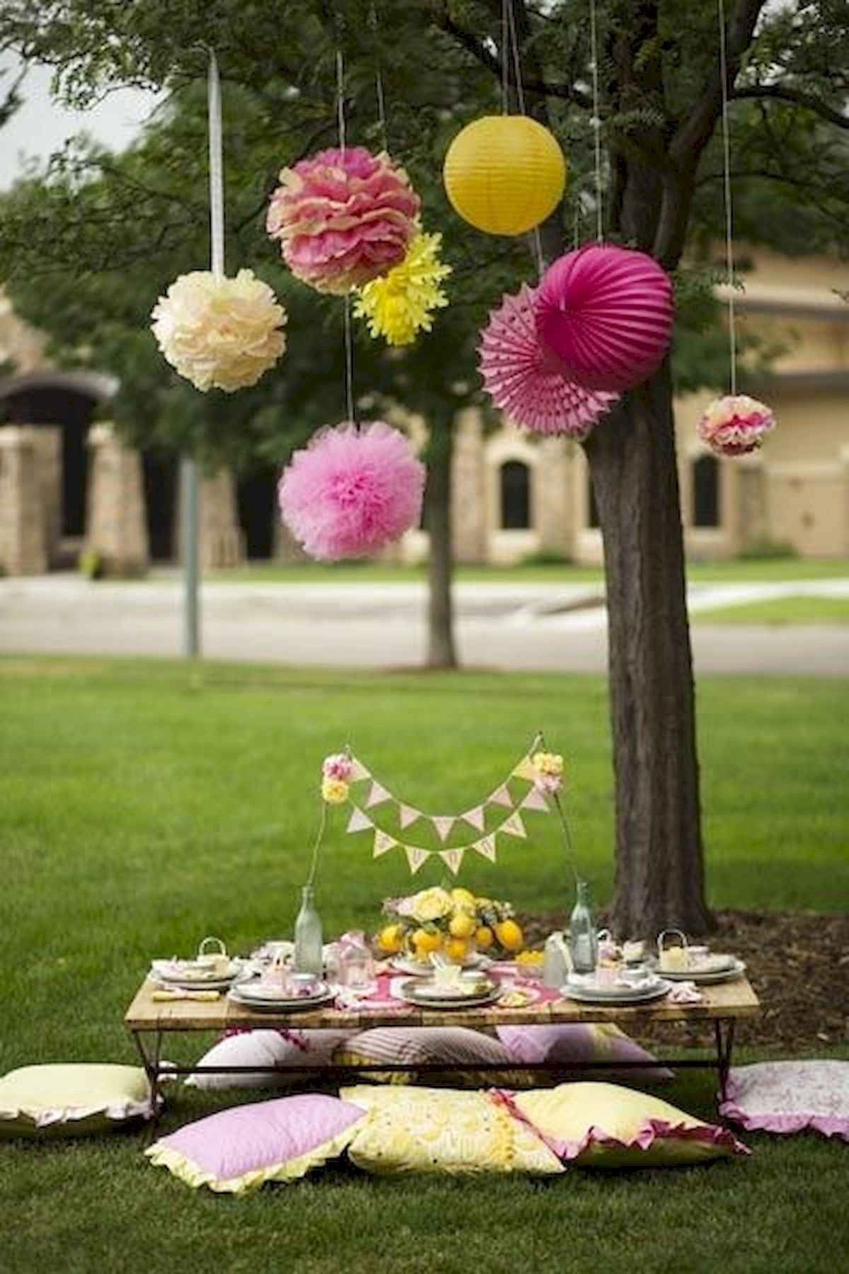 Outdoor Summer Party Decorations Ideas