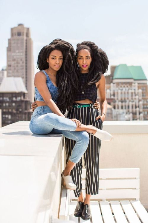 Naturalhairqueens Tk Wonder And Cipriana All Their Natural Hair