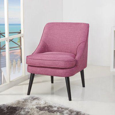 Laurel Foundry Modern Farmhouse Arlington Slipper Chair Color: Rose ...