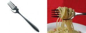 Tenedor para comer fideos