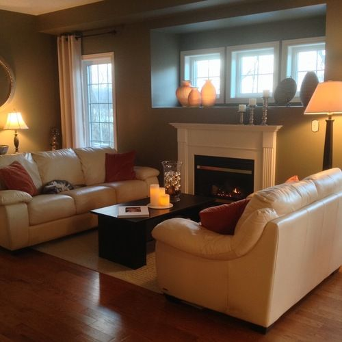 Attractive Interiors Home Staging: Home Staging Project In Beautiful Lakeside Area Of Ajax