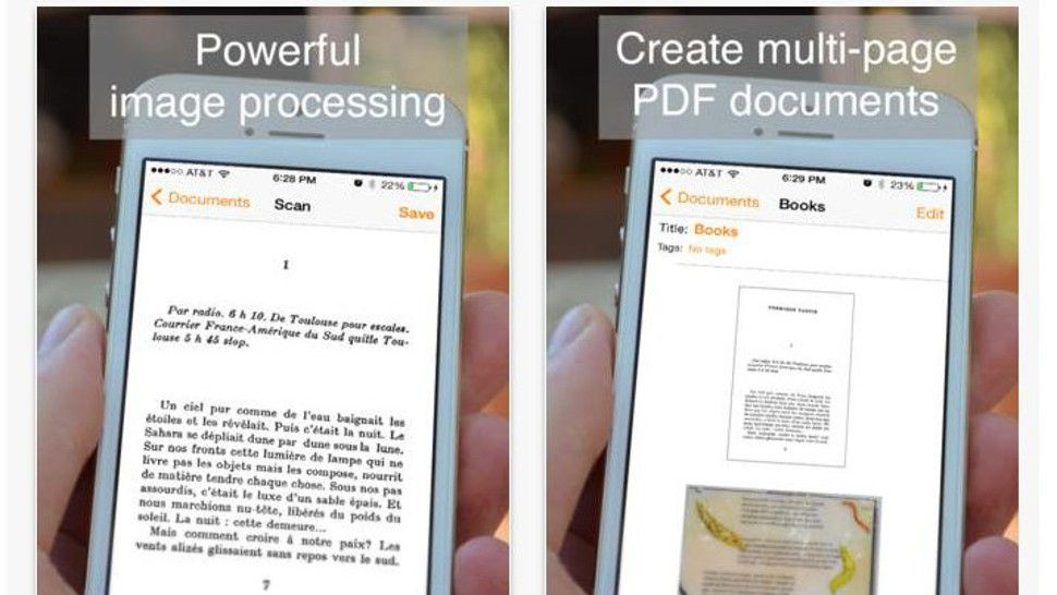 Scan documents in a flash using your tablet or smartphone Life hacks - scan to spreadsheet app iphone