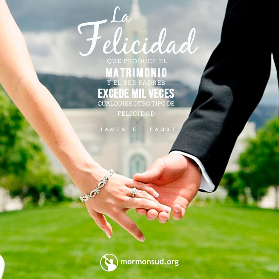 Matrimonio Eterno Biblia : La felicidad que produce el matrimonio y ser padres