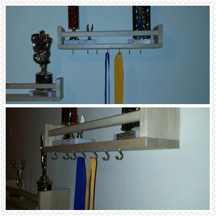 Ikea Hack Trophy Shelf But Could Be Used For Anything Really Keys Etc Used Ikea Bekvam Shelf And Screw Hooks Regal Ikea Kinder Zimmer