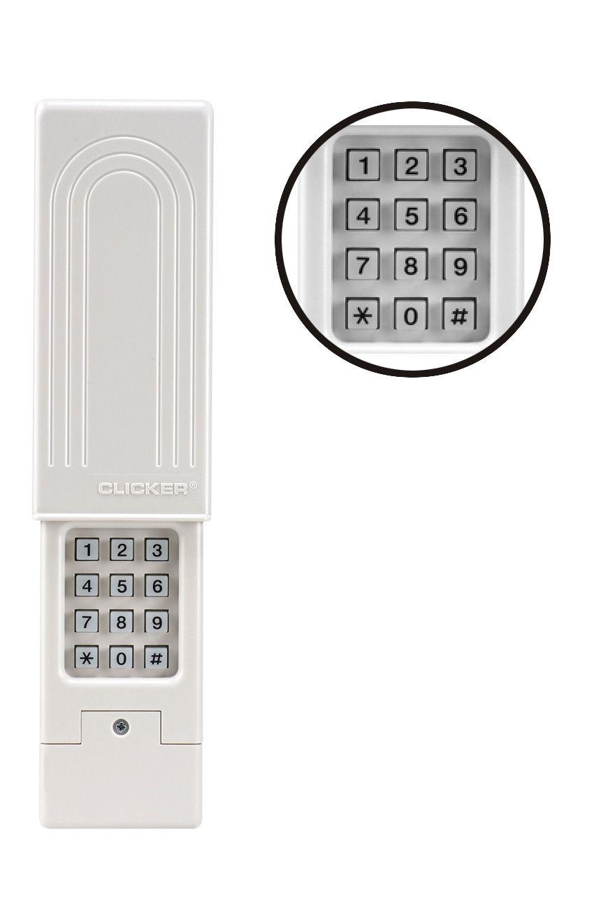 Clicker Universal Wireless Keyless Entry System Detail Garage Door Keypad Garage Door Opener Remote Overhead Garage Door