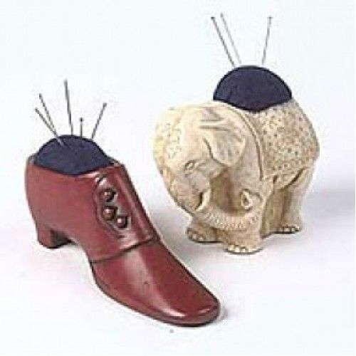 Victorian Button Boot Pincushion