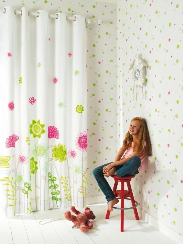 Coole Gardinen im Kinderzimmer bieten Sonnenschutz und