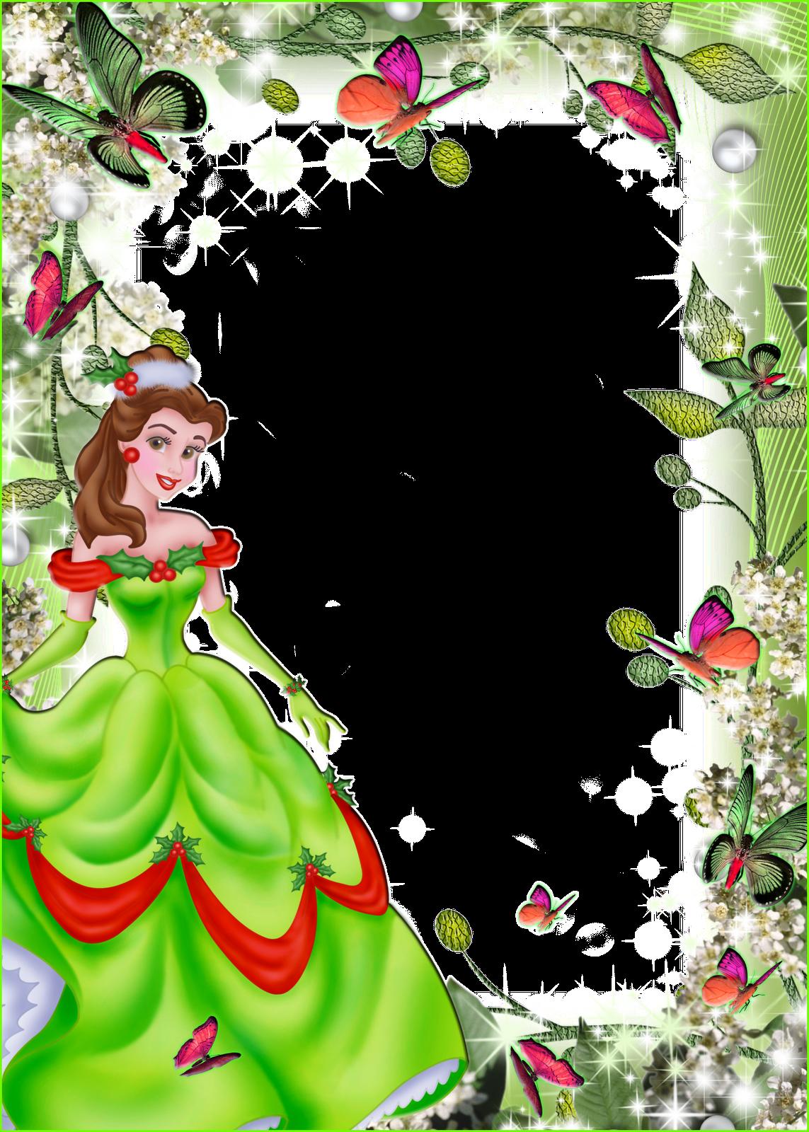 imagens para photoshop frames png fotos princesas disney 3