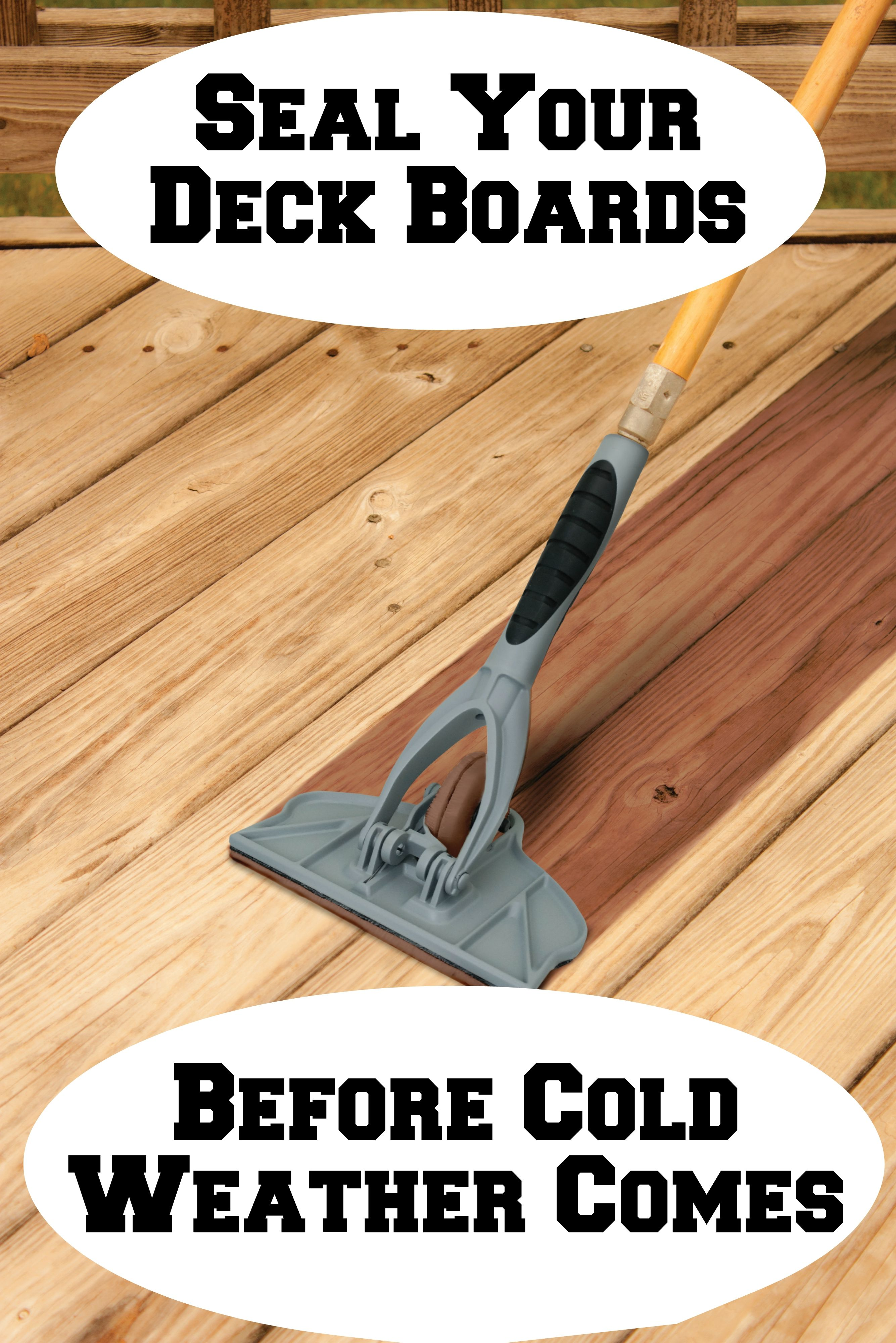 Easily Apply A Coat Of Stain To Your Deck Or Patio Before Winter Comes The Gap Wheel Stain Applicator Is The Fastest Easiest W Staining Deck Deck Cedar Stain