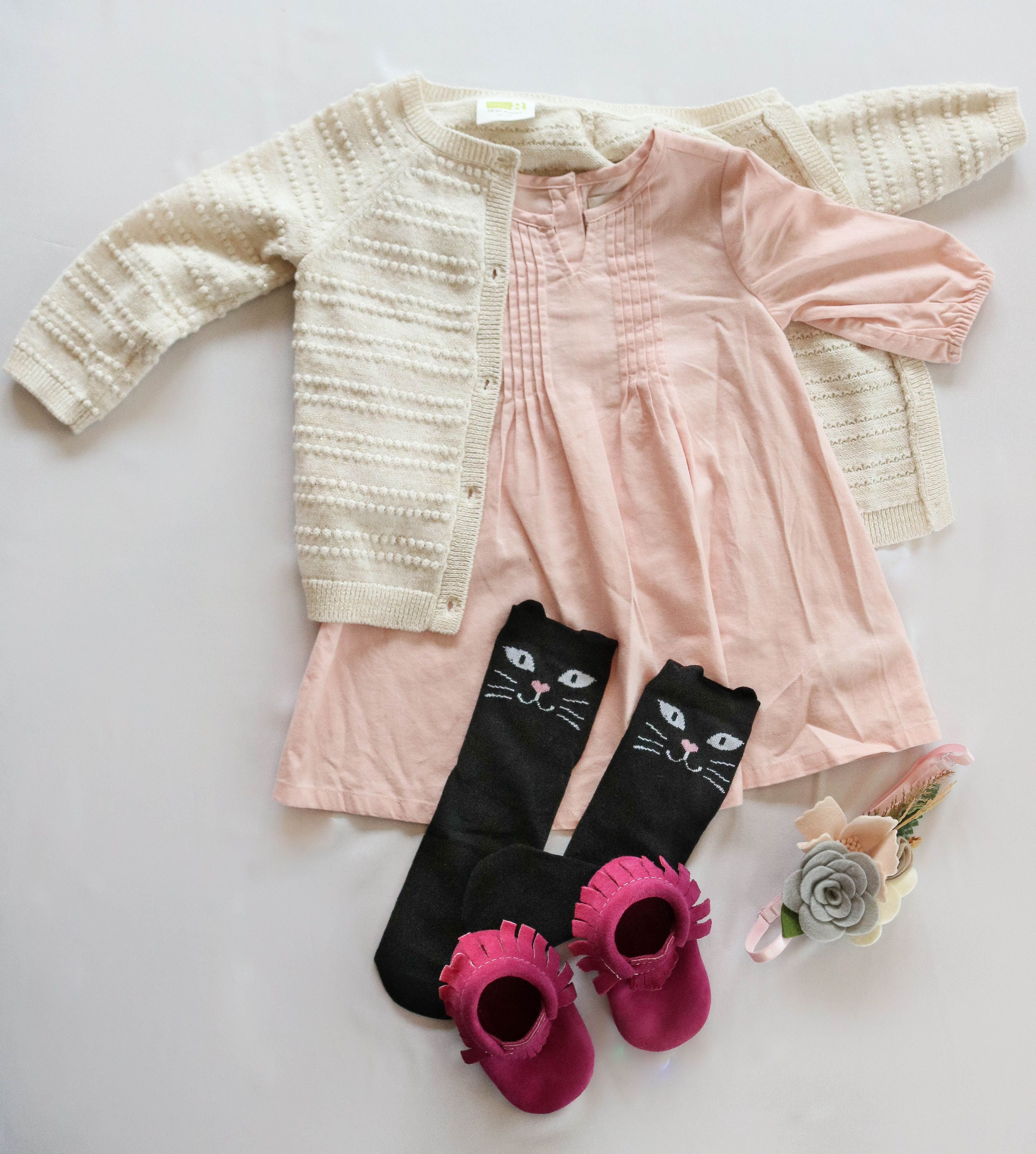 Fall Winter Baby Girl Outfits