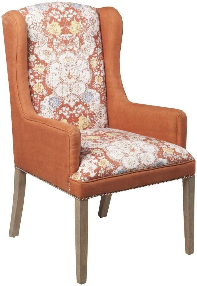 Surya Furniture Orange Chair FL1025