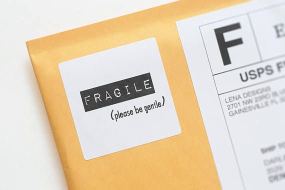 fragile stickers fragile labels handle with care product