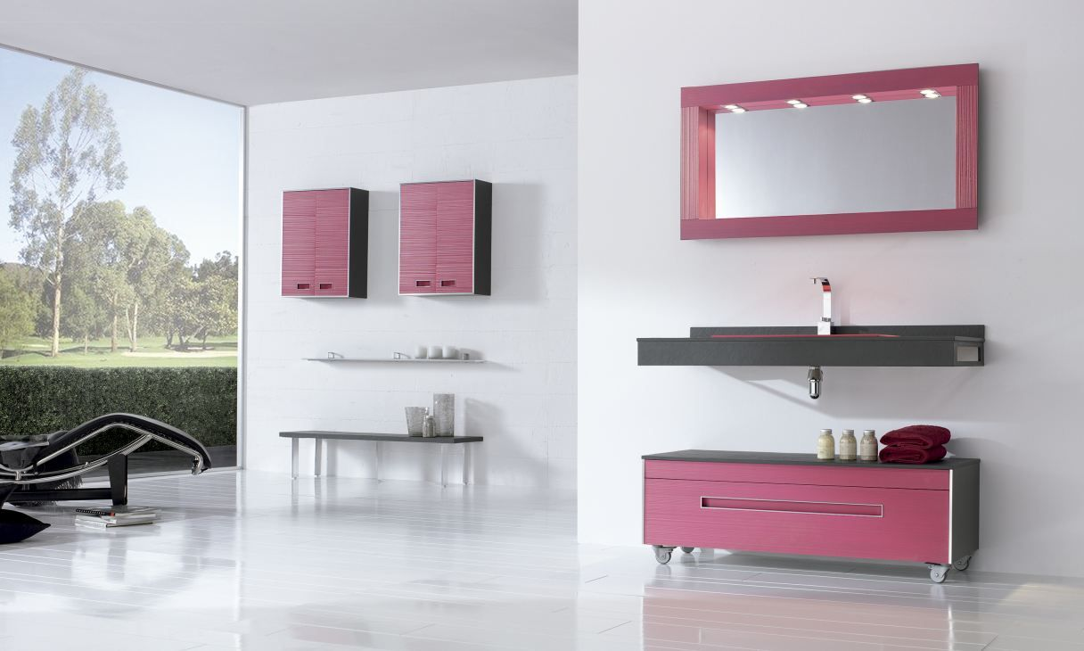 Fiora Salle De Bain fiora #colors #meuble #salledebain #pink | bathroom design