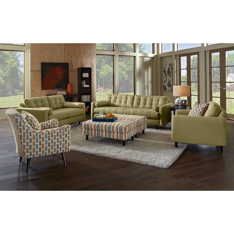 avenue iv upholstery sofa  value city furniture  value