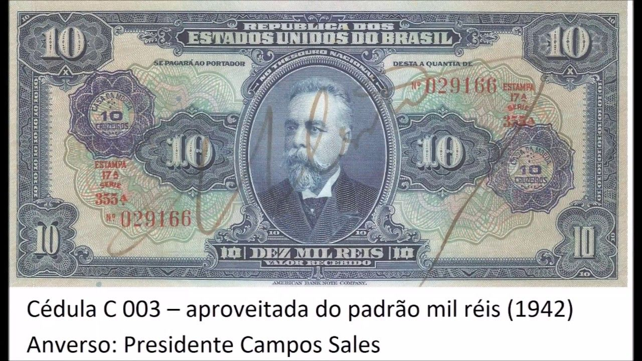 Ate 50 Mil Reais As Cedulas Mais Valiosas Da Historia Do