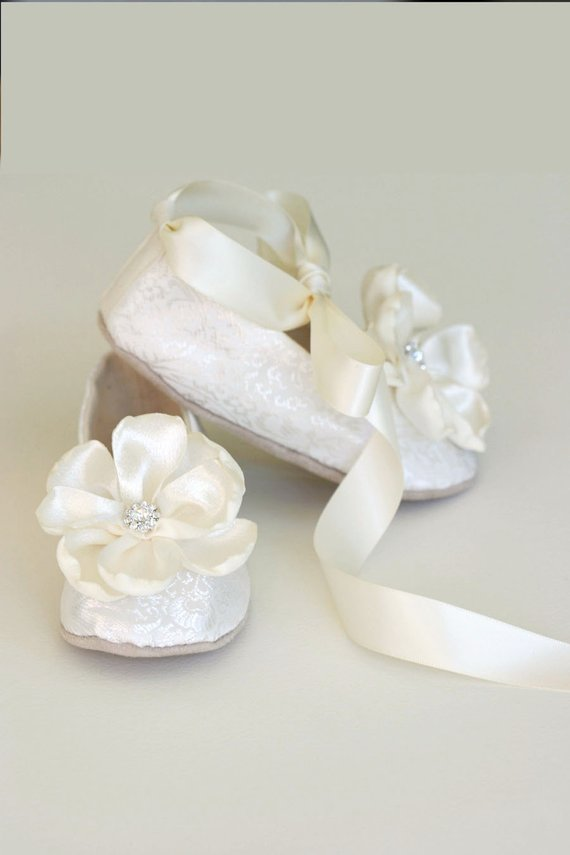 c9d691188cb Silver Baby Ballet Slipper