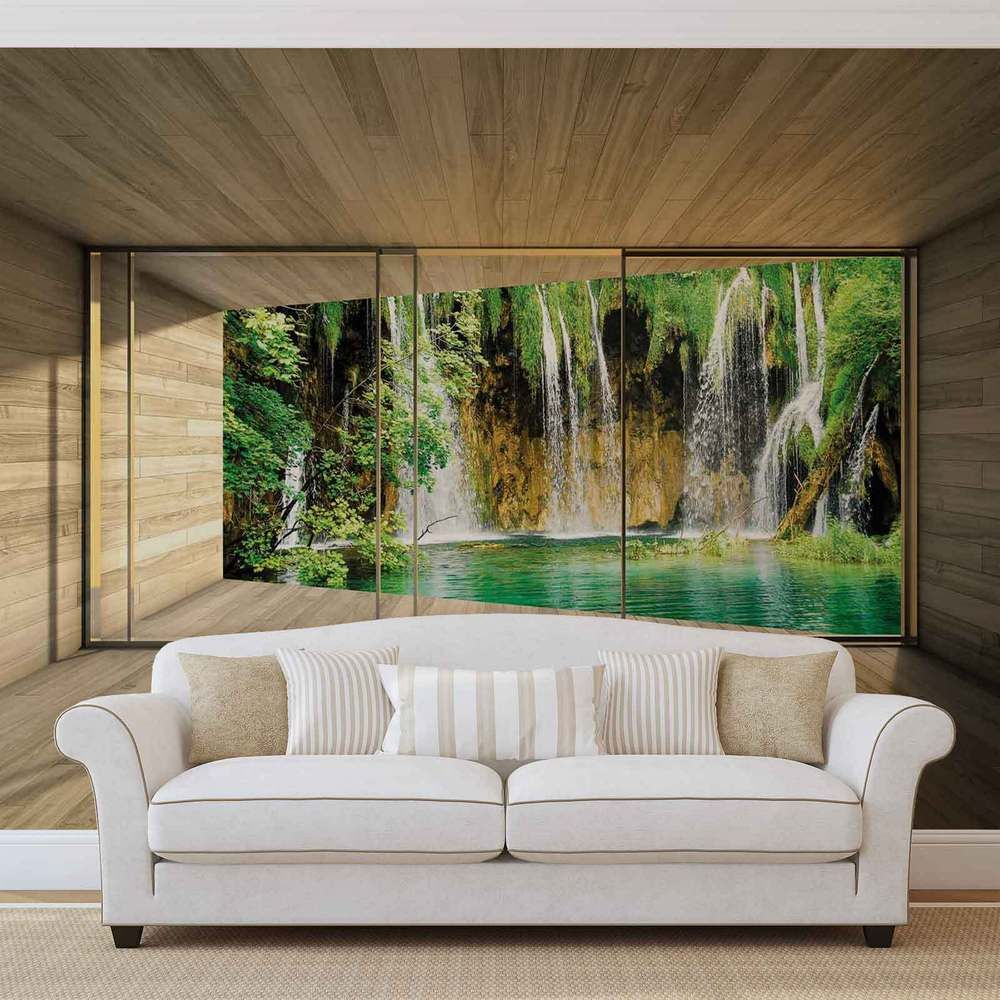 Details about Waterfall WALL MURAL PHOTO WALLPAPER (3316DK