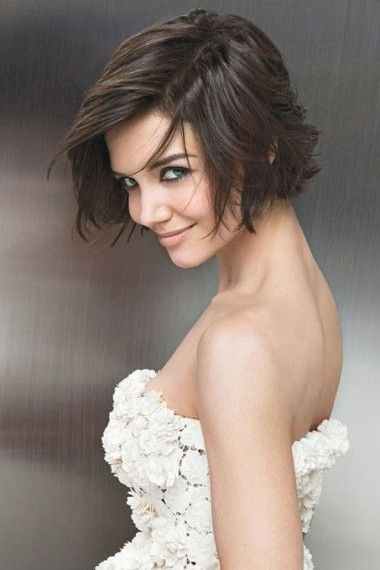 Coiffure mariage coupe carre court