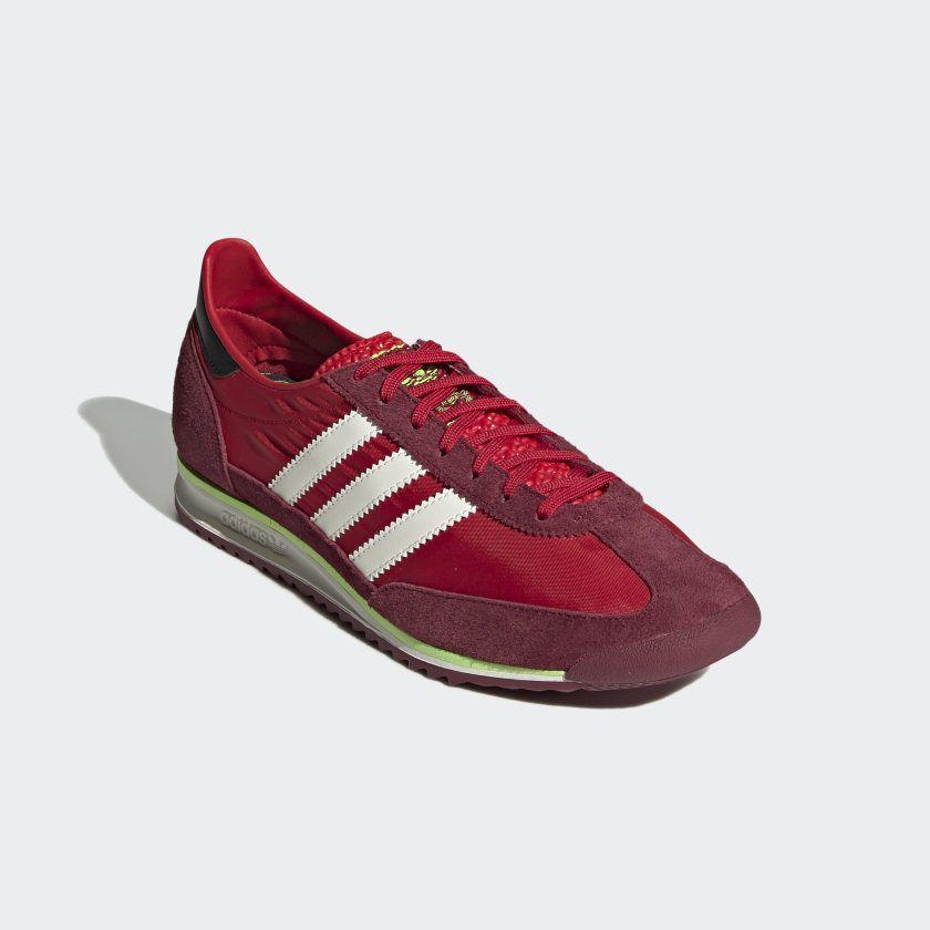 Escribe un reporte robo electrodo  adidas SL 72 Shoes - Red | adidas US | Red adidas shoes, Red adidas, Adidas  sl 72