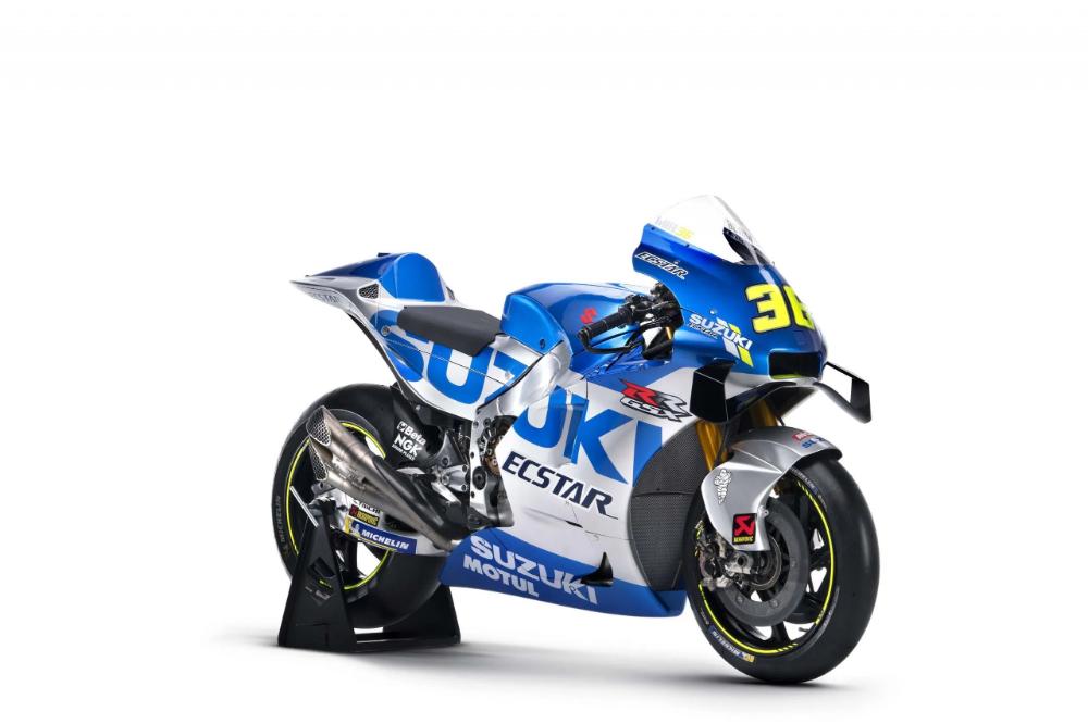 Suzuki Gsx Rr Motogp Race Bike Gets Bold New Graphics For 2020 In