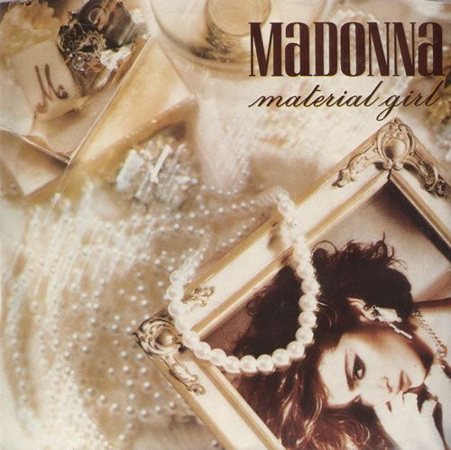 Madonna Material Girl Portugese 7 Vinyl Single 7 Inch Record