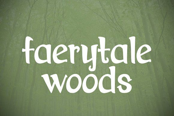 Faerytale Woods by Brittney Murphy Design on @creativemarket