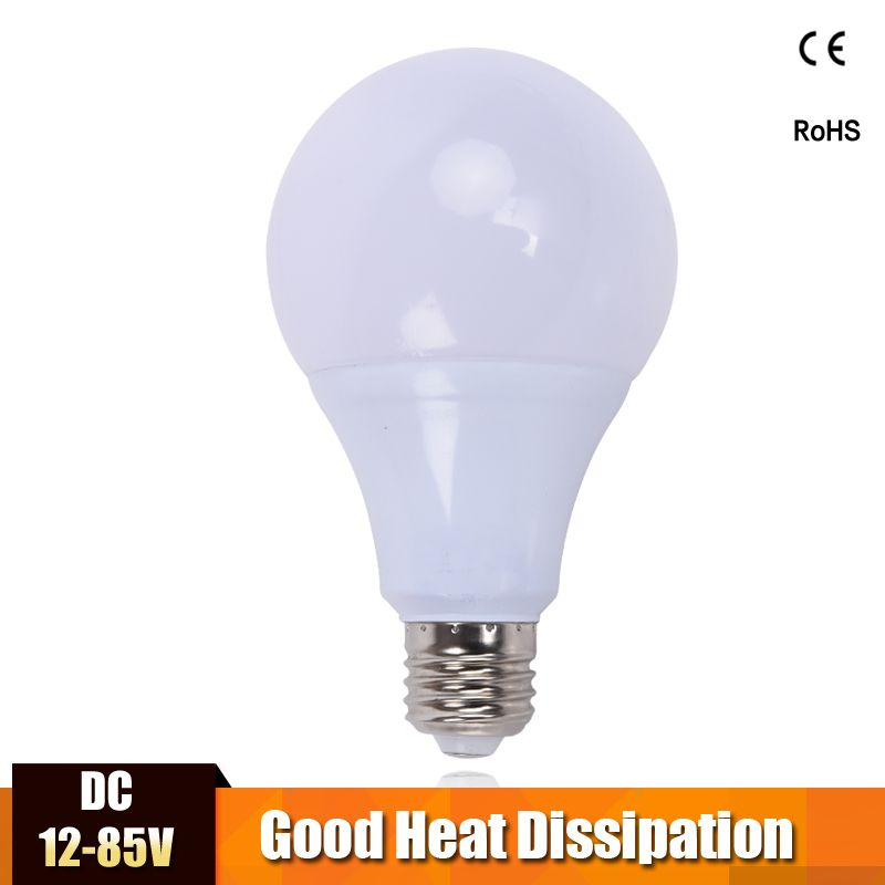 Us 1 55 Feb Only 15 95 Off E27 Led Lamp Bulb Dc 12v 24v 36v Energy Saving Lights Bulb Dc12 85v Bombillas Led Camp Ho Light Bulb Led Bulb Led Light Bulb