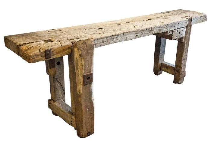 Antique Workbench, Found In France With Great Lines! Would Make A Statement  Kitchen Island Or Sofa Table. One Of Kind Patina Made Out Of Heavy, Thick  Wood.