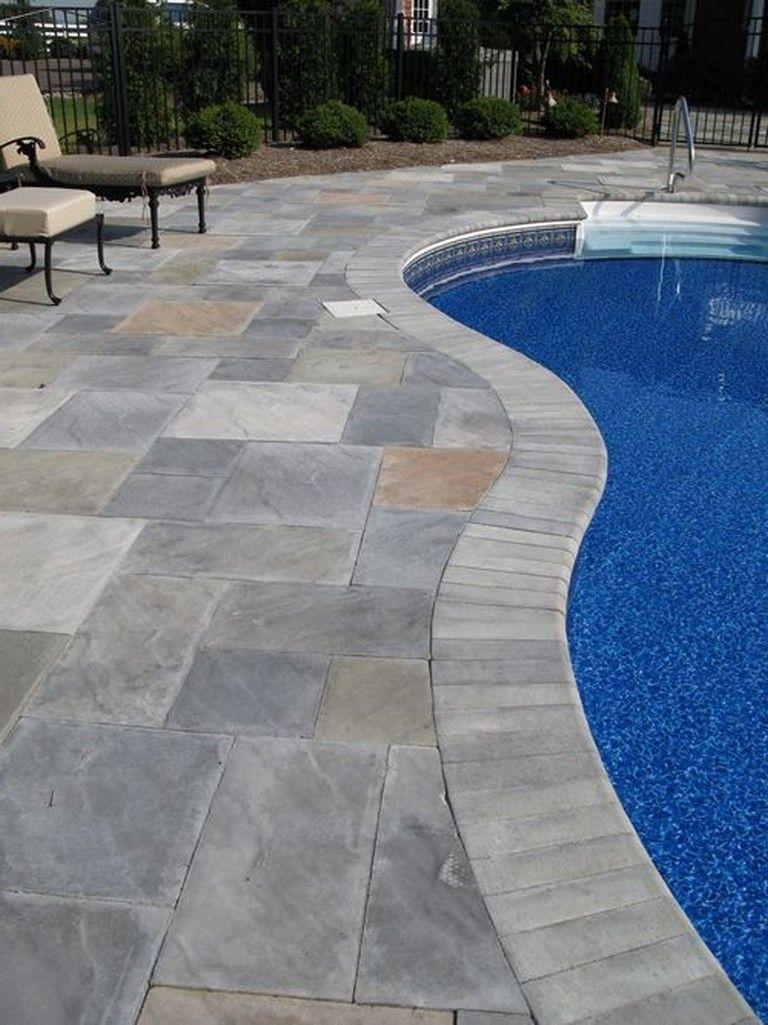 45 pleasant stone pool deck design ideas swimmingpooldesign rh in pinterest com