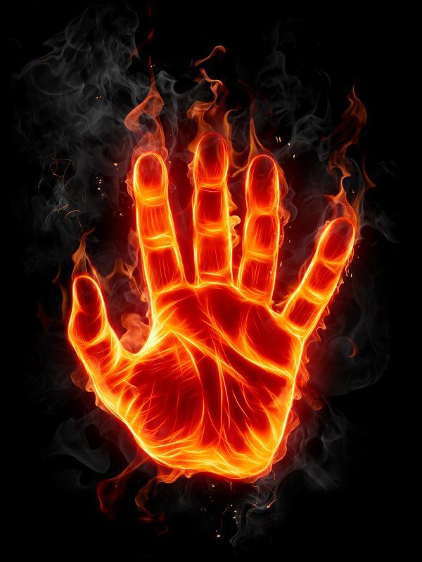 burning palm hand | Love spells, Fire, Light my fire