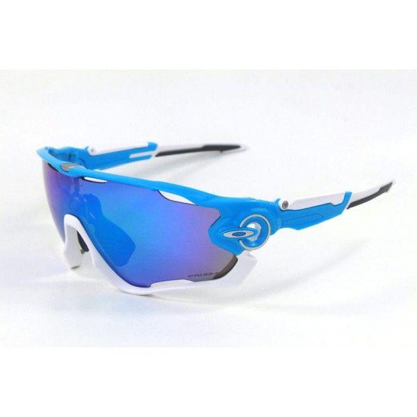 oakley jawbreaker blau