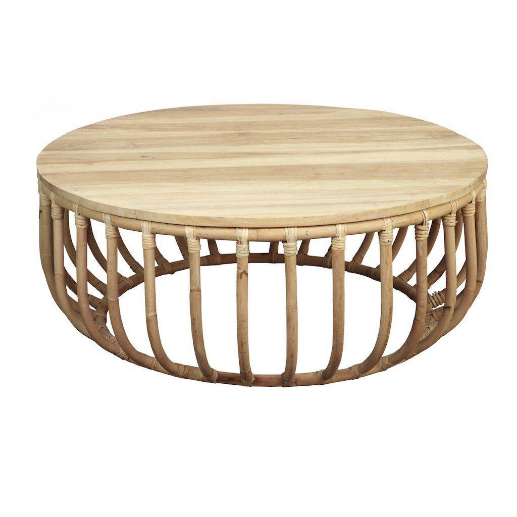 760 Aikko Coffee Table Coffee Table Round Coffee Table Bamboo Coffee Table [ 1024 x 1024 Pixel ]