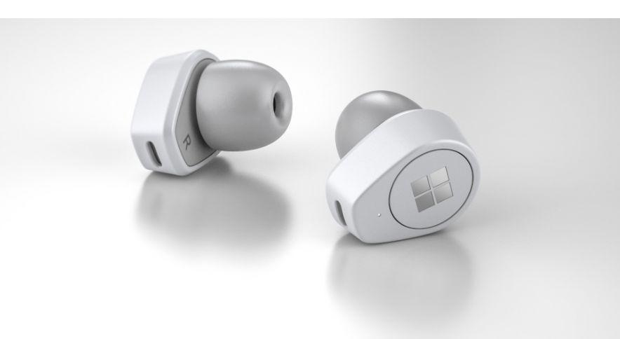 مايكروسوفت ت حضر لدخول سوق سماعات الأذن اللاسلكية تحت علامتها التجارية Surface Earbuds Microsoft Surface Wireless Earbuds