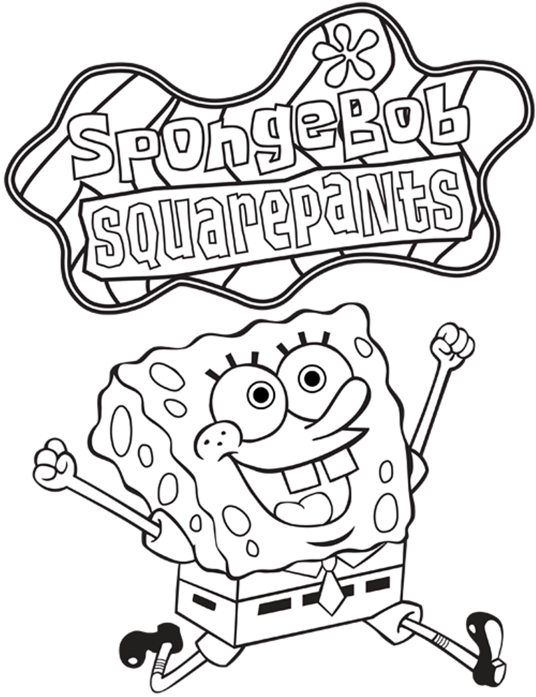 Coloring Rocks Spongebob Coloring Halloween Coloring Pages Printable Coloring Books