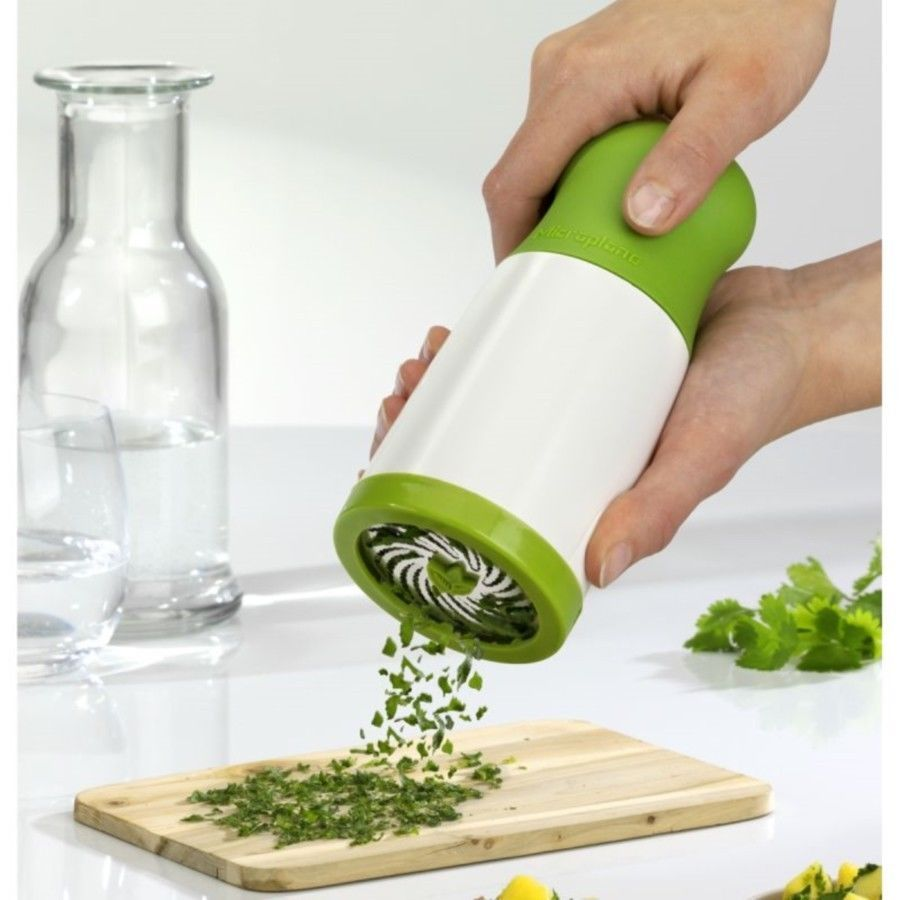 Microplane Herb Mill Parsley Grinder Grater Chopper Cutter