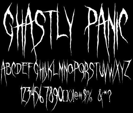 halloween leetering | 15 Excellent Free Halloween Font for Designers | Djdesignfuture
