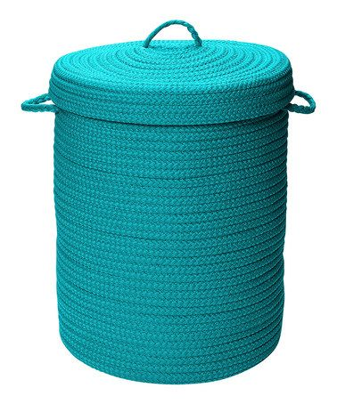 Take A Look At This Turquoise Laundry Hamper By Colonial Mills On