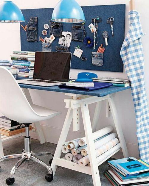 Schreibtisch Selber Bauen Bunt Holz Preisgünstig Kompakt