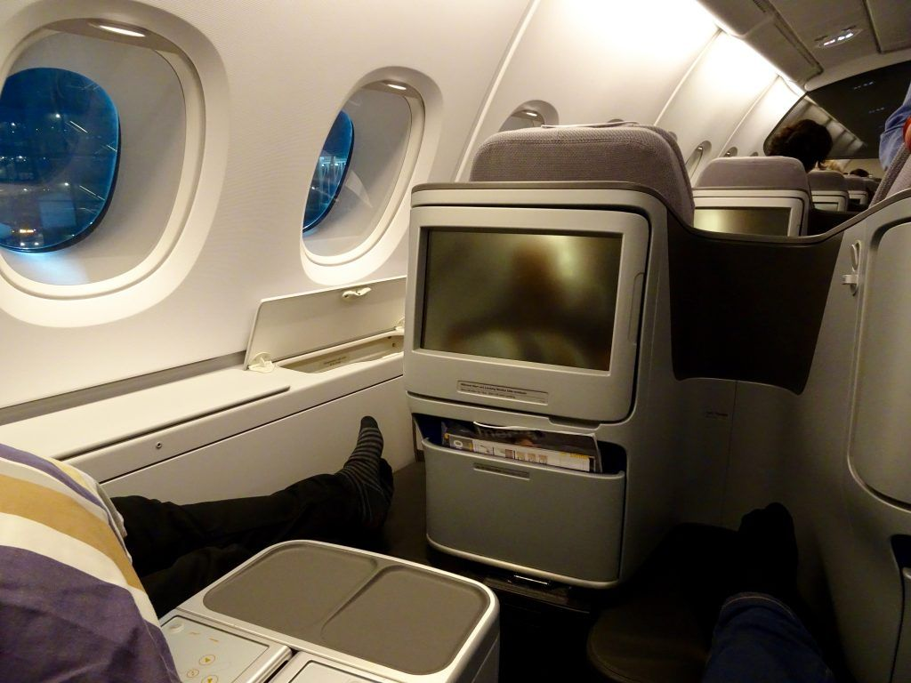 Lufthansa Business Class (Experienced on the A380 and B747