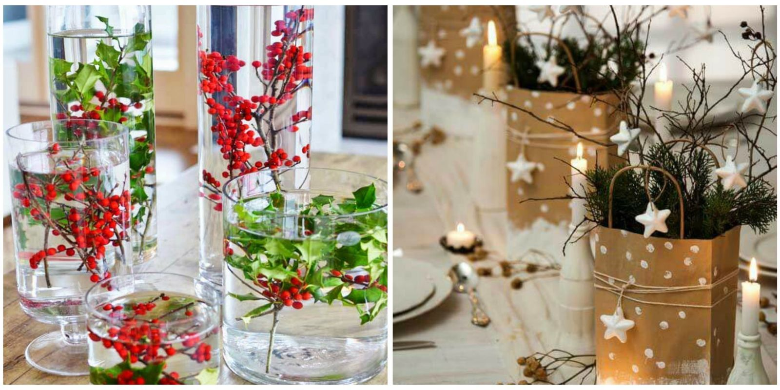 16 diy christmas centerpieces for the most festive table ever rh pinterest it