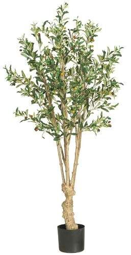 54 Artificial Olive Tree In Pot Faux Olive Tree Potted Trees Small Artificial Plants