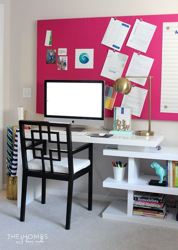diy large pin board with an acrylic dry erase surface rh pinterest co uk