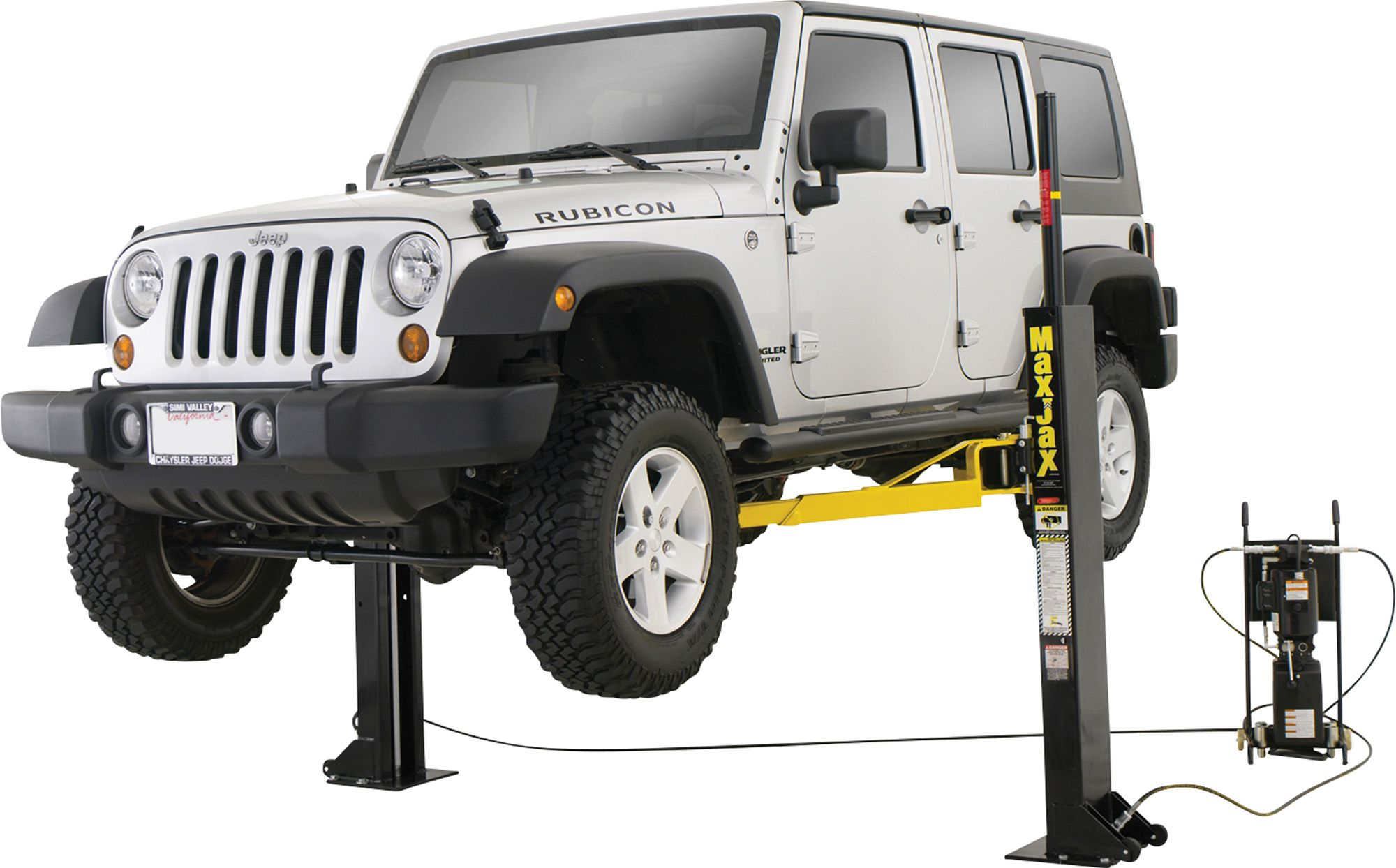 MaxJax 2-Post Vehicle Lift | Lifted cars, Automotive ...