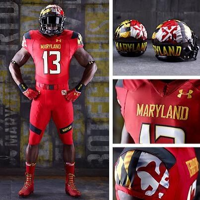 newest collection 29b71 5bf62 Maryland Terps uniform | Maryland Terps | College football ...